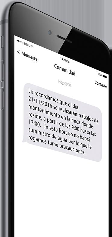 Imagen móvil Notificaciones electrónicas